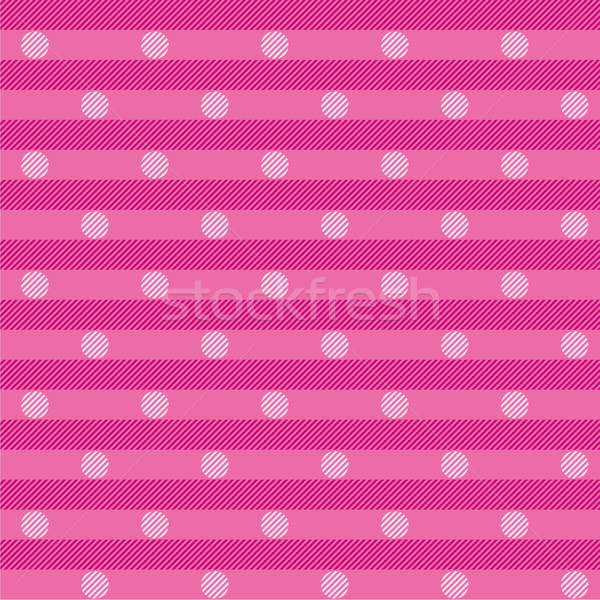 Pink cloth with white dots Stock photo © Ustofre9