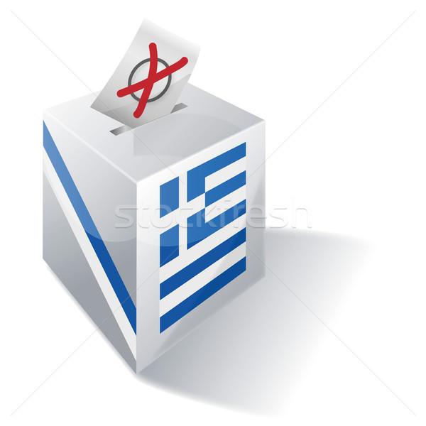 Ballot box Greece Stock photo © Ustofre9