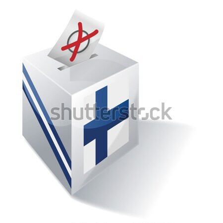 Ballot box Quebec Stock photo © Ustofre9