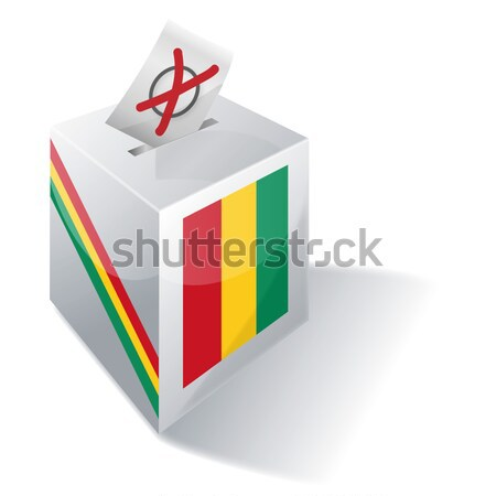 Ballot box Cyprus Stock photo © Ustofre9