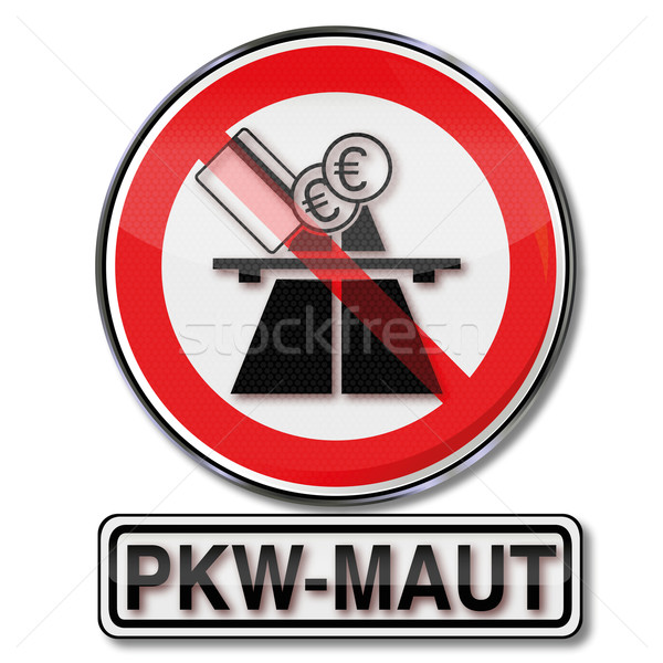 Prohibition sign car toll Stock photo © Ustofre9