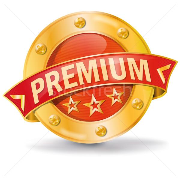 Button premium  Stock photo © Ustofre9