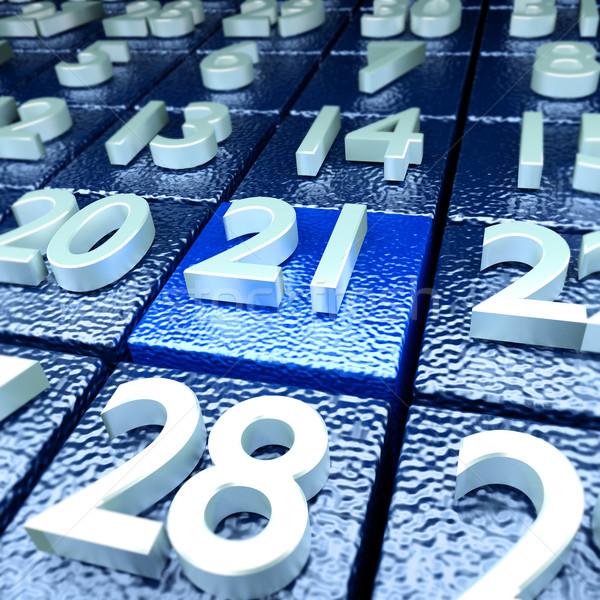 Twenty-first calendar day Stock photo © Ustofre9