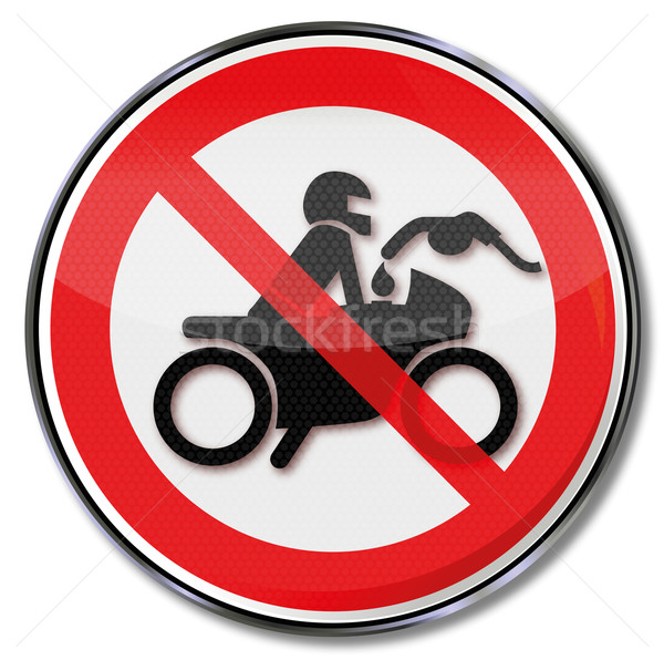 Prohibition sign no fueling while the engine is running Stock photo © Ustofre9
