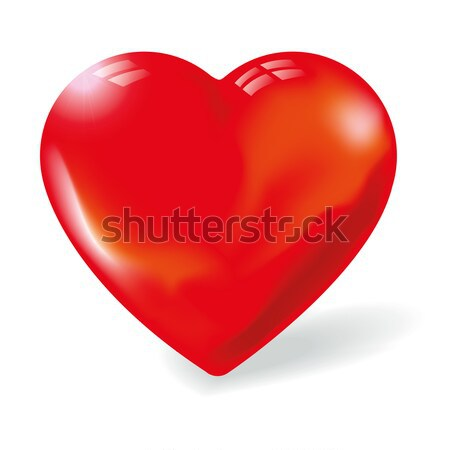 Red heart Stock photo © Ustofre9