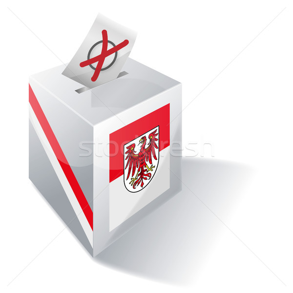 Ballot box Brandenburg Stock photo © Ustofre9