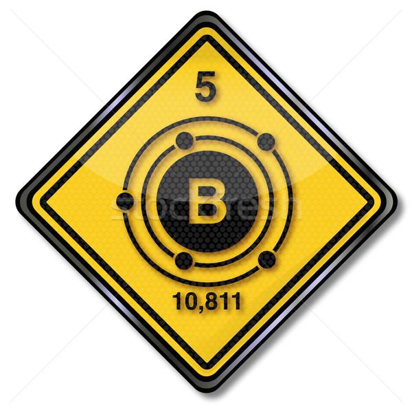 знак химии характер признаков химического сельского хозяйства Сток-фото © Ustofre9