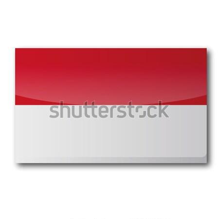 Flag Indonesia Stock photo © Ustofre9