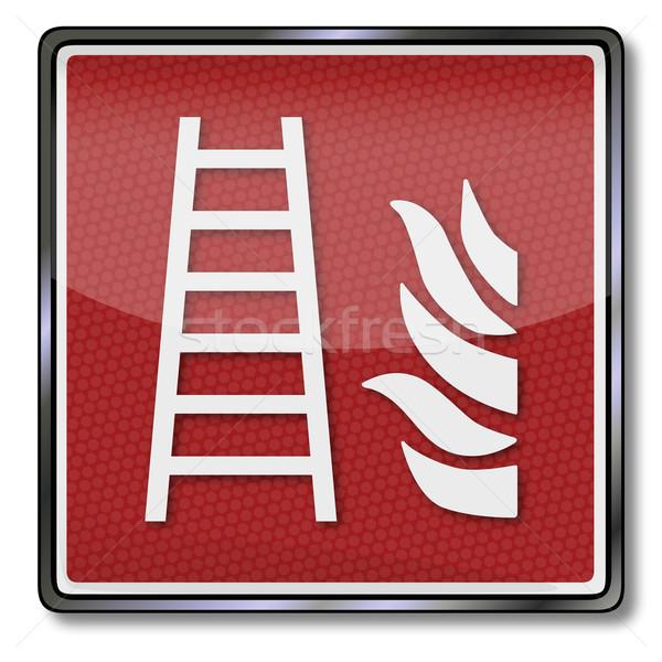 火災 安全 にログイン 脱出 煙 連絡 ストックフォト © Ustofre9