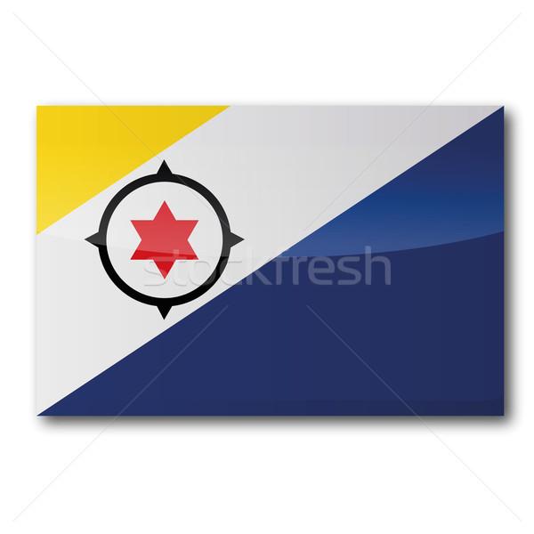 Flag Bonaire Stock photo © Ustofre9