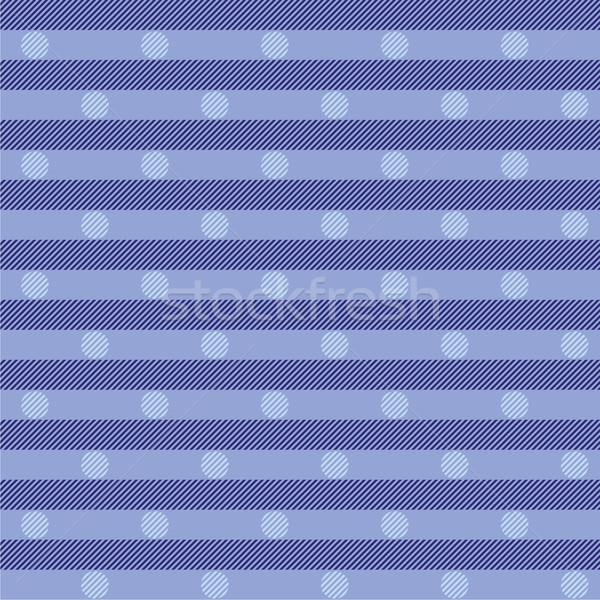 Blue fabric with dots Stock photo © Ustofre9
