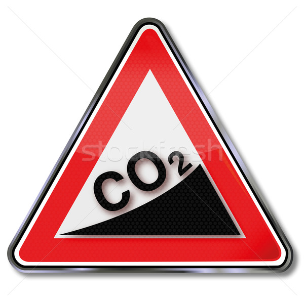 Sign CO2 increase Stock photo © Ustofre9