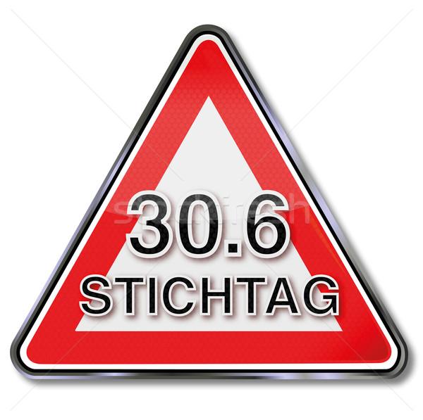 Signo fecha tope fecha 30 signos botón Foto stock © Ustofre9