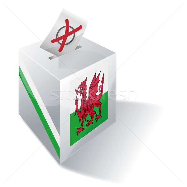 Ballot box Wales Stock photo © Ustofre9