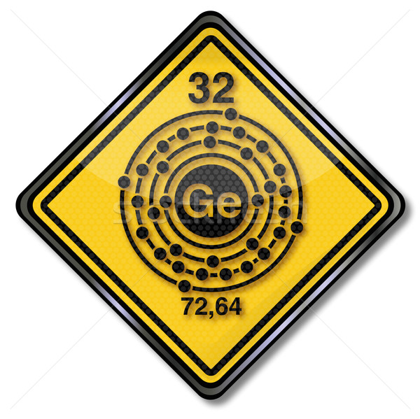 Sign chemistry and chemical characters germanium  Stock photo © Ustofre9