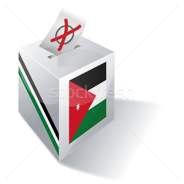 Ballot box Jordan Stock photo © Ustofre9
