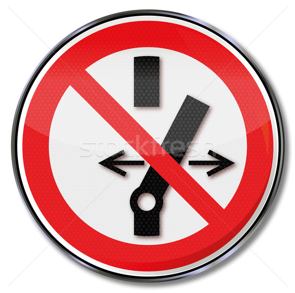 Prohibition sign no switching  Stock photo © Ustofre9