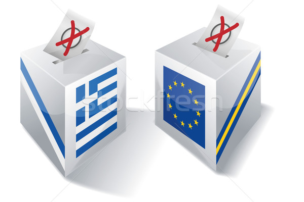 Selection box with Europe and Greece Stock photo © Ustofre9