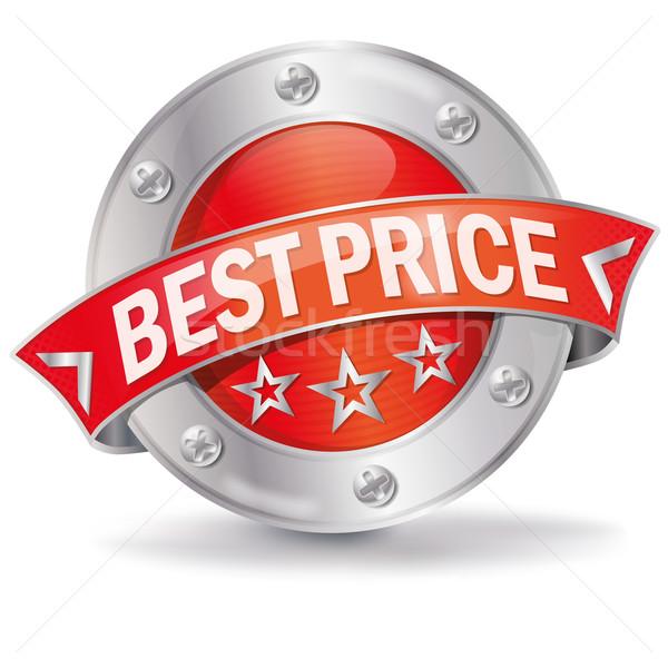 Legjobb ár gomb üzlet internet csillagok segítség Stock fotó © Ustofre9