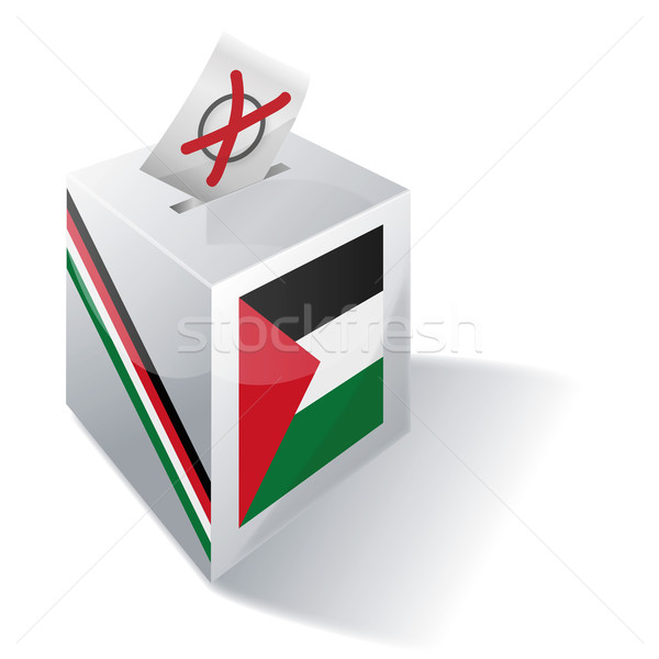 Ballot box Palestine Stock photo © Ustofre9