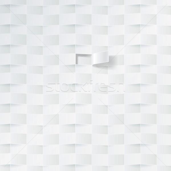 Fehér kosár minta fecsegés buli divat Stock fotó © Ustofre9