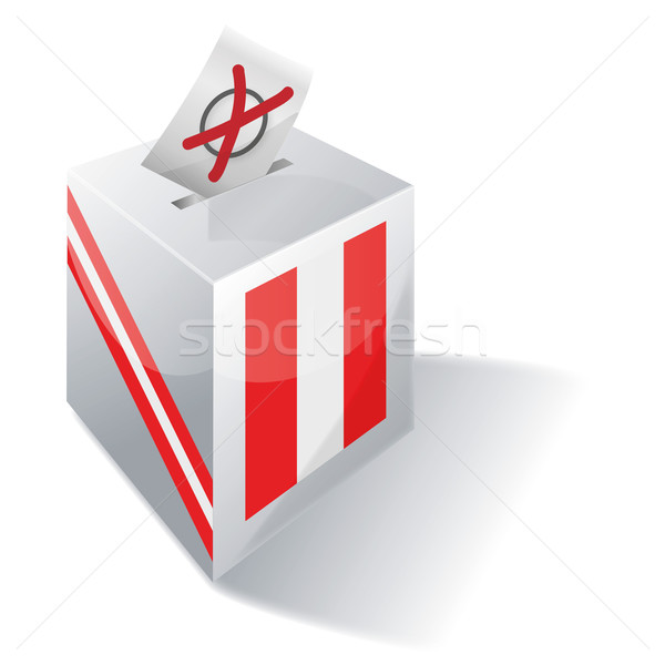 Ballot box Peru  Stock photo © Ustofre9