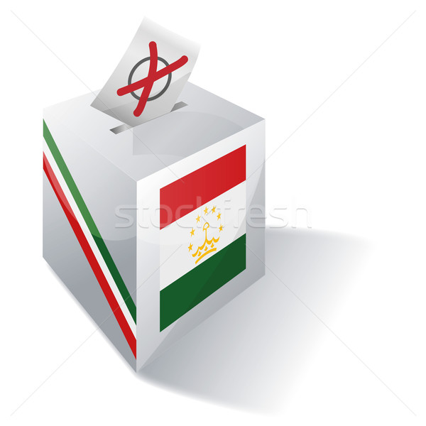 Ballot box Tajikistan Stock photo © Ustofre9