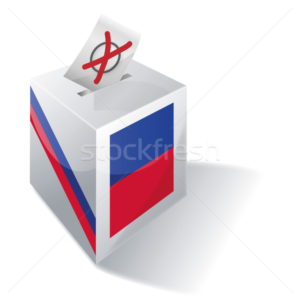Ballot box Haiti Stock photo © Ustofre9