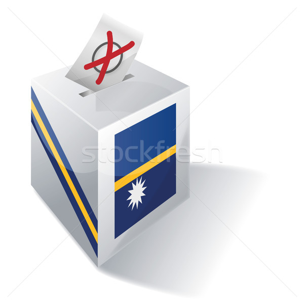 Ballot box Nauru Stock photo © Ustofre9