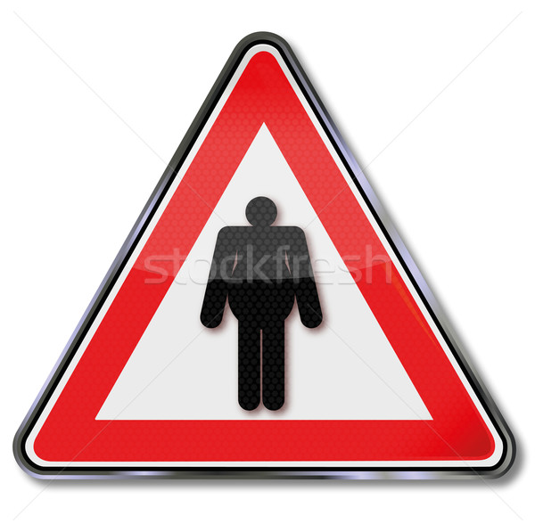 Sign body weight and obesity Stock photo © Ustofre9