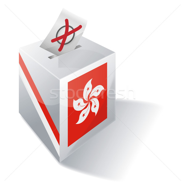 Ballot box Hong Kong Stock photo © Ustofre9