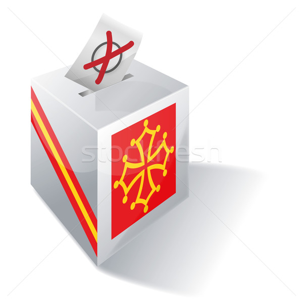 Stock photo: Ballot box Midi-Pyrénées