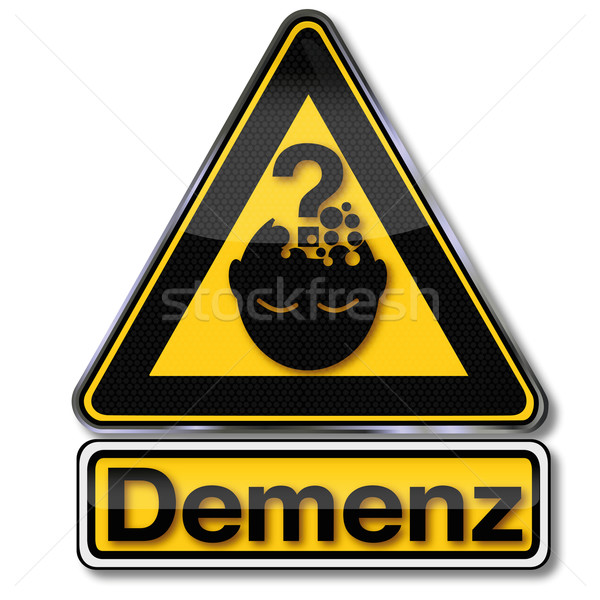 Sign dementia Stock photo © Ustofre9