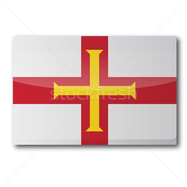 Flag Guernsey Stock photo © Ustofre9