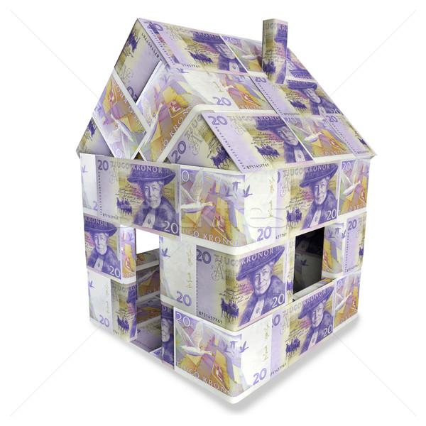 House of 20 Swedish kronor Stock photo © Ustofre9