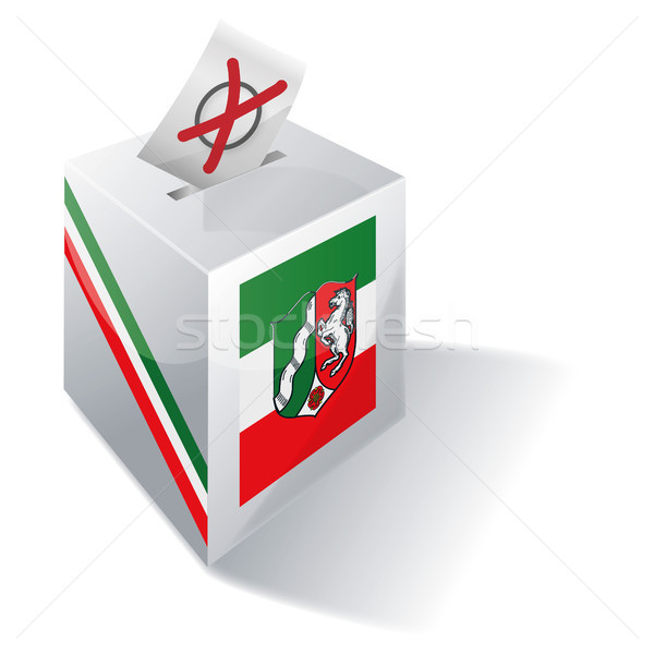 Ballot box North Rhine-Westphalia Stock photo © Ustofre9