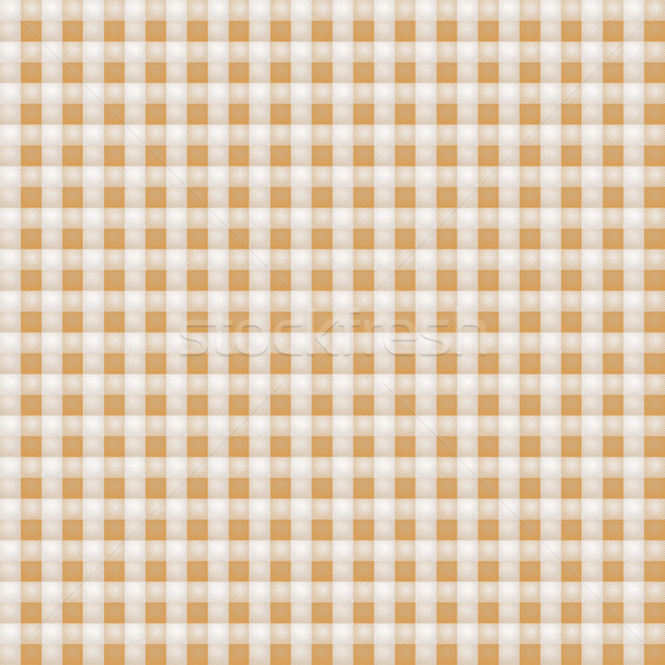 Small brown patterned fabric with checks Stock photo © Ustofre9