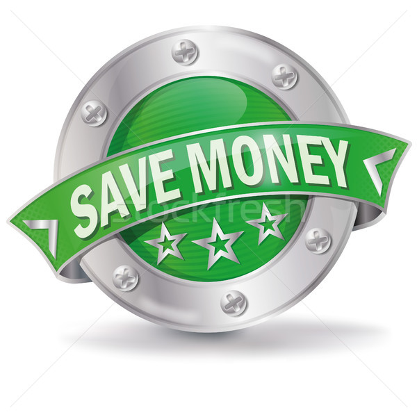 Button with save money Stock photo © Ustofre9