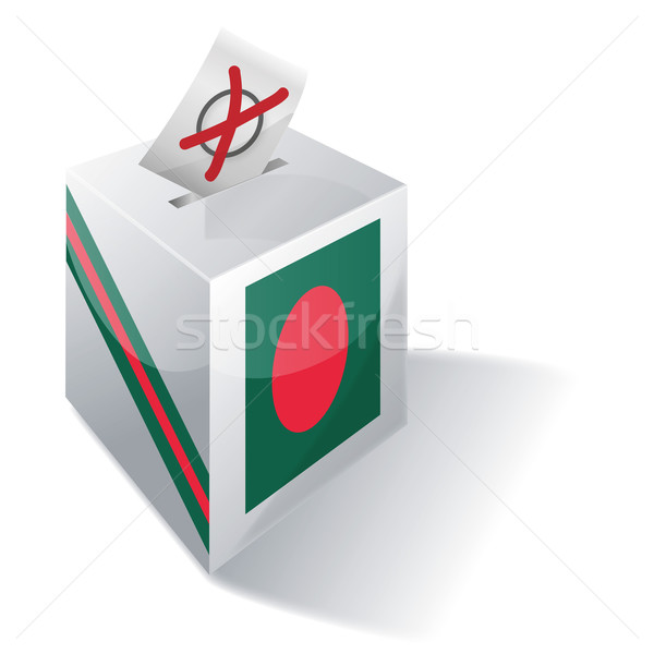 Ballot box Bangladesh Stock photo © Ustofre9