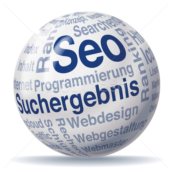Results and seo sphere Stock photo © Ustofre9