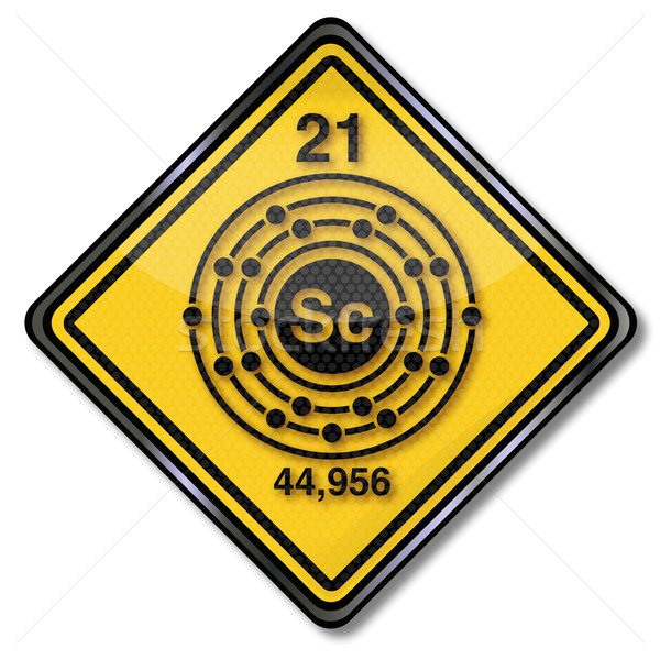 Signe chimie personnage terre signes recherche Photo stock © Ustofre9