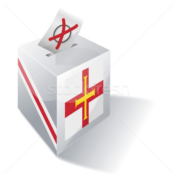 Ballot box Guernsey Stock photo © Ustofre9