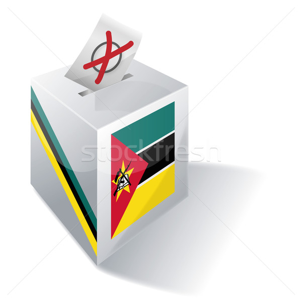 Ballot box Mozambique Stock photo © Ustofre9