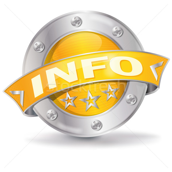 Info button Stock photo © Ustofre9
