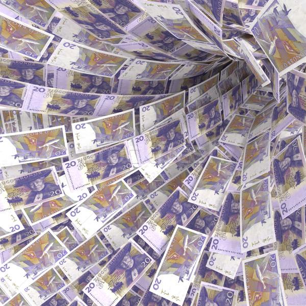 Dinheiro vórtice 20 segurança mercado Foto stock © Ustofre9