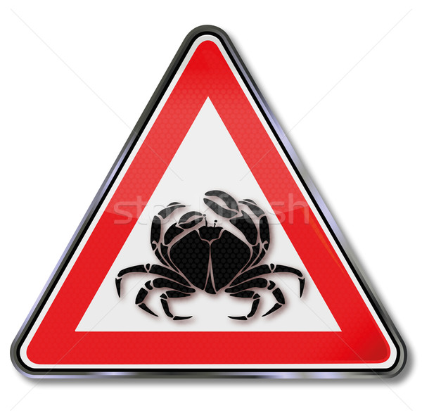 Sign cancer and crustacean Stock photo © Ustofre9