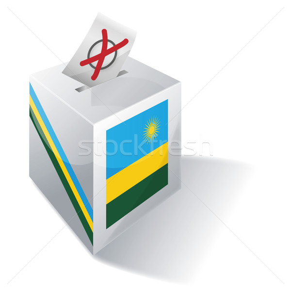 Ballot box Rwanda Stock photo © Ustofre9