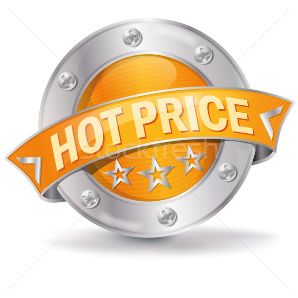 Button Hot Price  Stock photo © Ustofre9