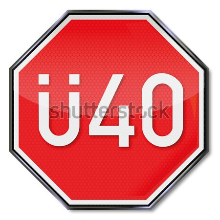 決して ヘルメット 一時停止の標識 法 銀行 産業 ストックフォト © Ustofre9