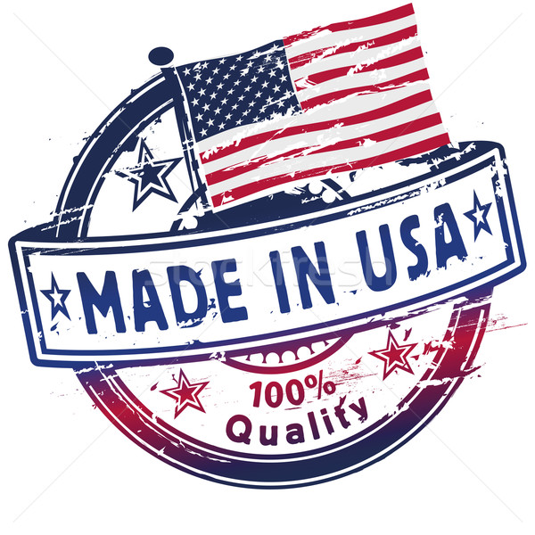 Rubber stamp made in usa Stock photo © Ustofre9